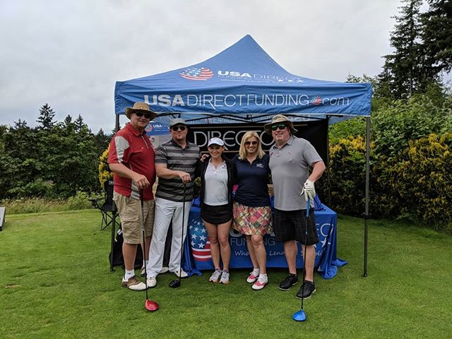 USA Direct Funding and @directorsmortgage are proud to sponsor the 2018 WAMP Golf Tournament.  Washington Association of Mortgage Professionals is a group that's dedicated to the representation and education of licensed mortgage professionals, creating a more competitive and informed marketplace.
