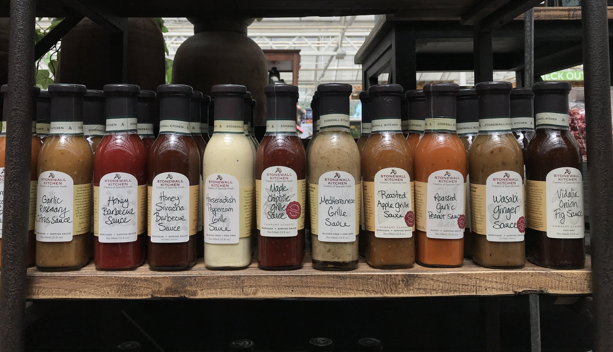 Stonewall Kitchen Grill Sauces starting at $8.00.