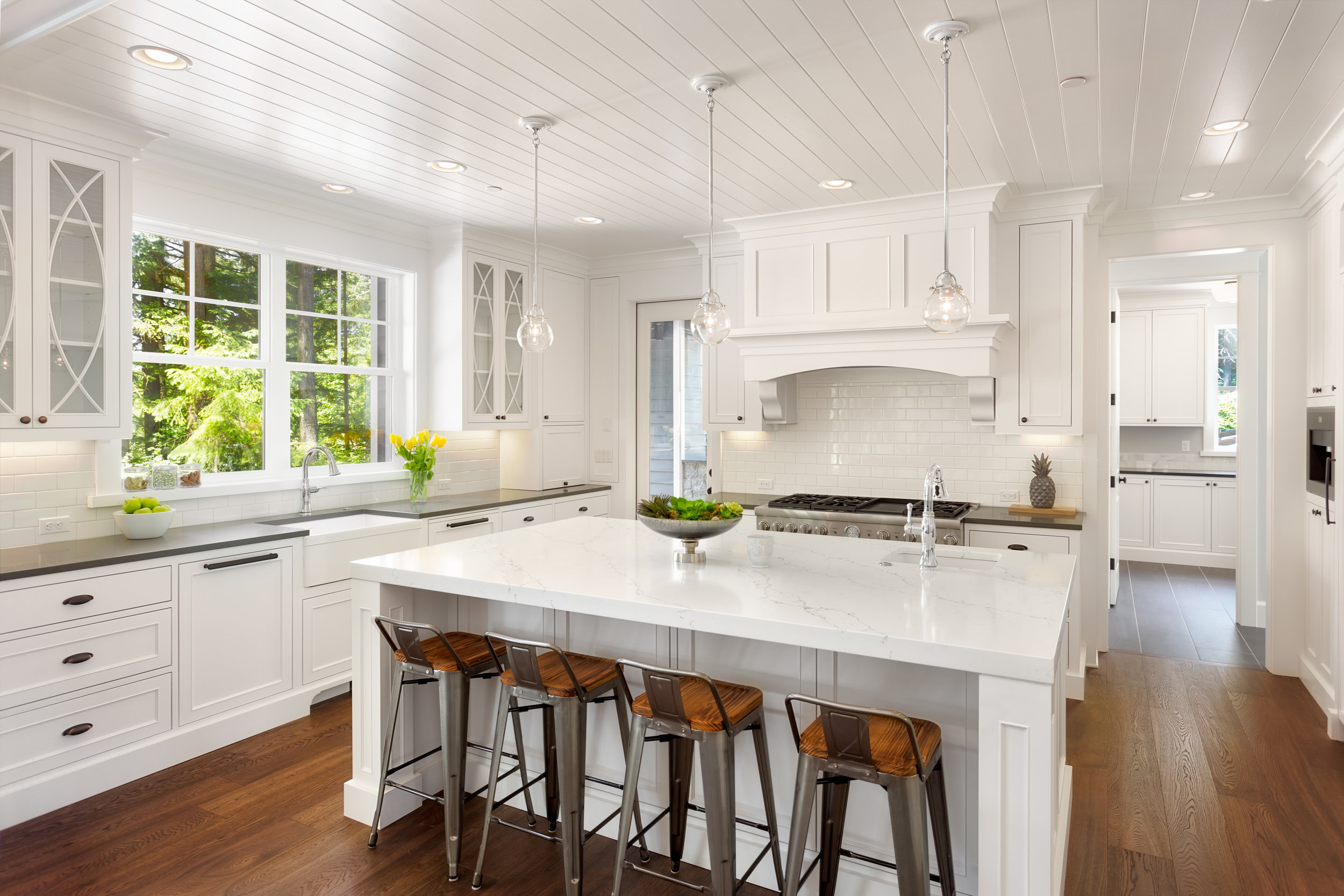 Nothing like New - We can efficiently handle all of your construction needs. Our company has expertise in kitchen and bathroom remodeling, residential additions and commercial constructions. Learn more ➝