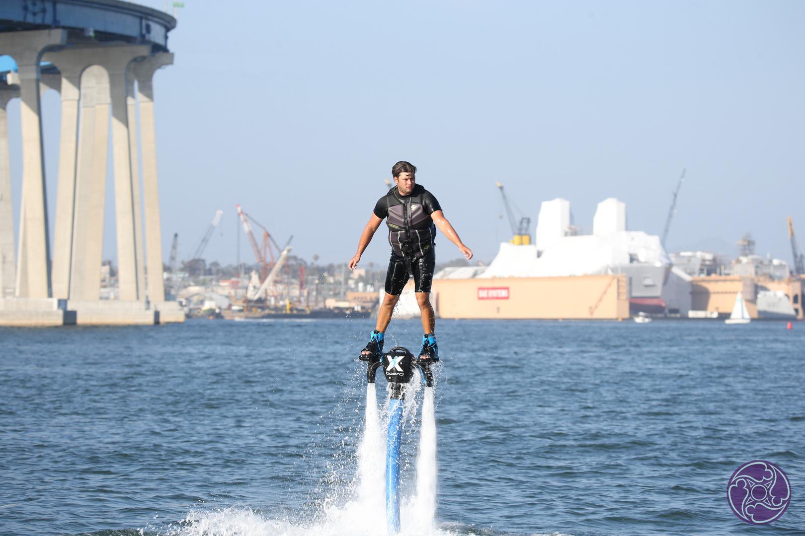Water aerialist