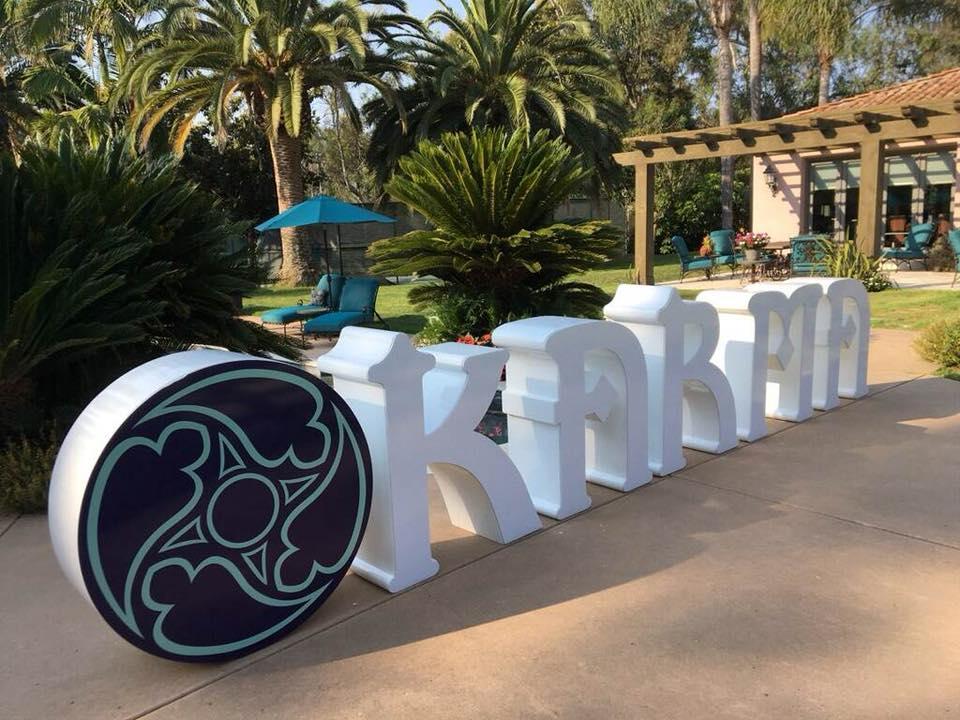 Karma International Logo Prop