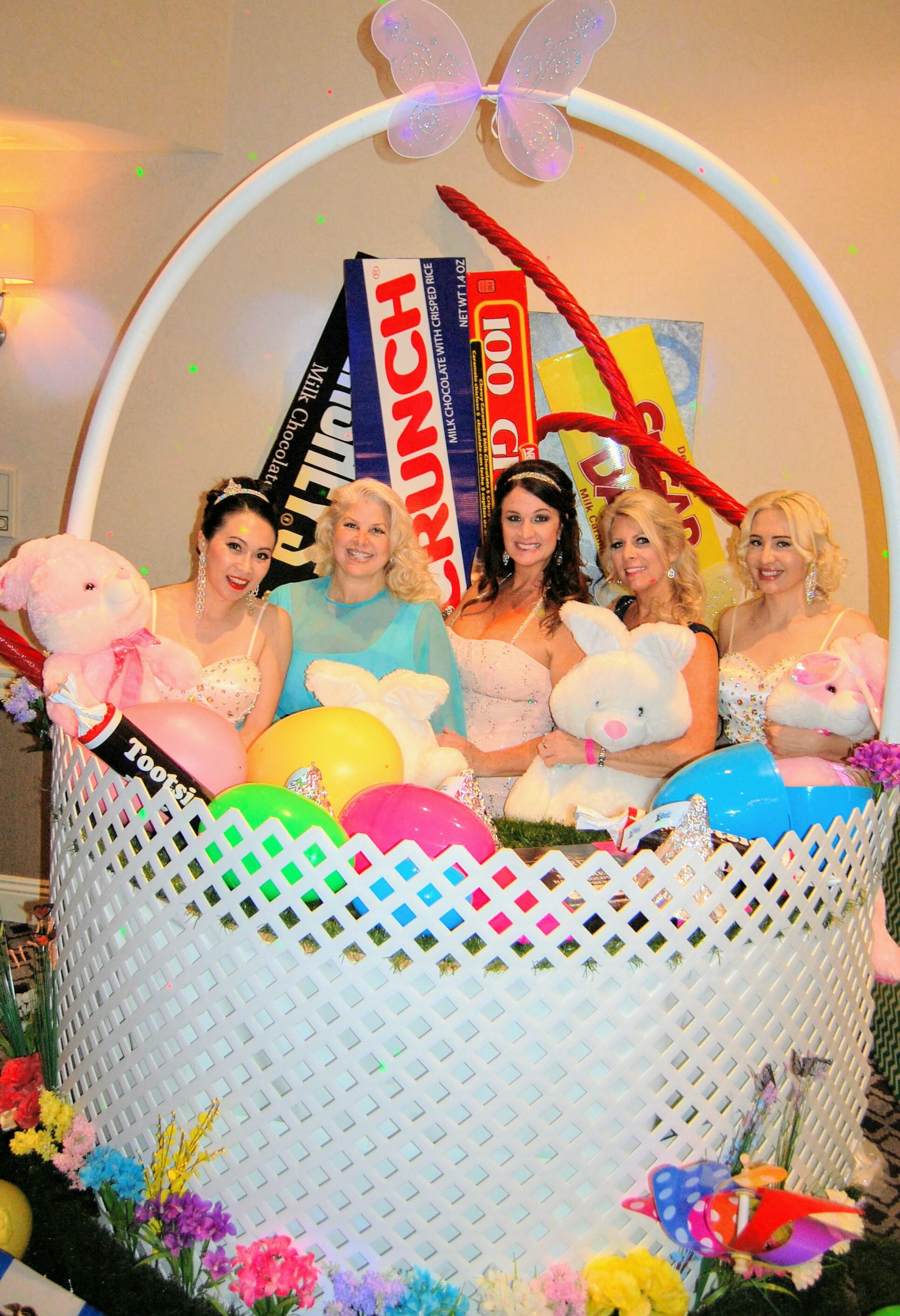 Custom Easter Basket Prop
