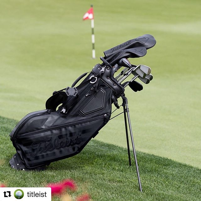 We shot some beautiful gear. It's a beautiful life. @lifetimebranding  pc: @myophoto  #Repost @titleist ・・・ Carrying sophistication from the first tee to the 19th hole. Meet the Titleist Noir Collection, now available online.