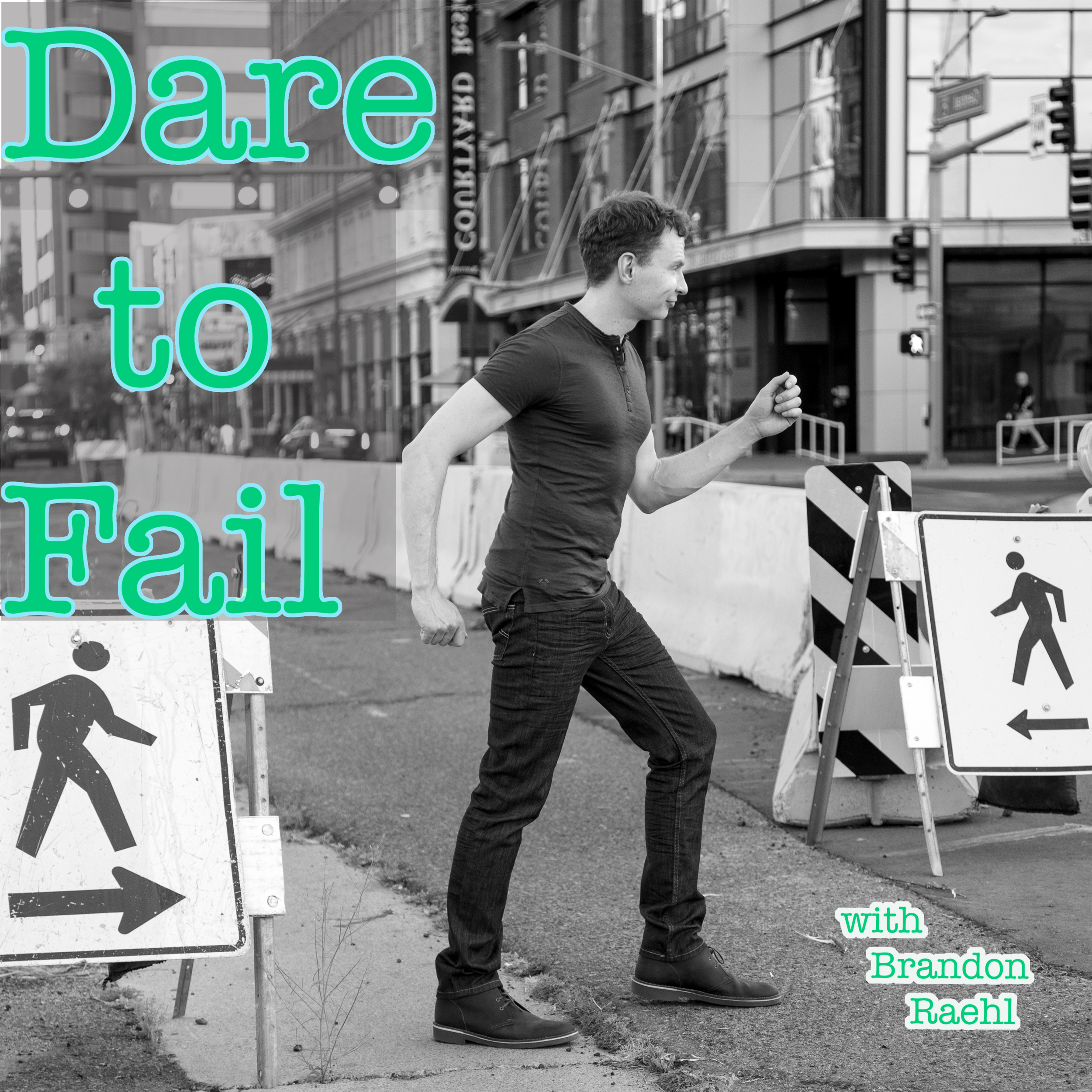 WHAT THE HELL IS THIS? - Welcome to the Dare to Fail Podcast! I don't mean to toot my own horn, but I'm a proud, self-proclaimed expert at the art of failing. That's right—failure. In fact, it's one of my mantras in life: Dare to Fail. When I decided to pursue the life I really wanted for myself, I quickly learned it would only be possible if I was willing to risk failure to learn how to become better. That's what Dare to Fail means, being willing to risk the rejection, hardship and failure in life to do what you want to do. This podcast is dedicated to those on that journey.