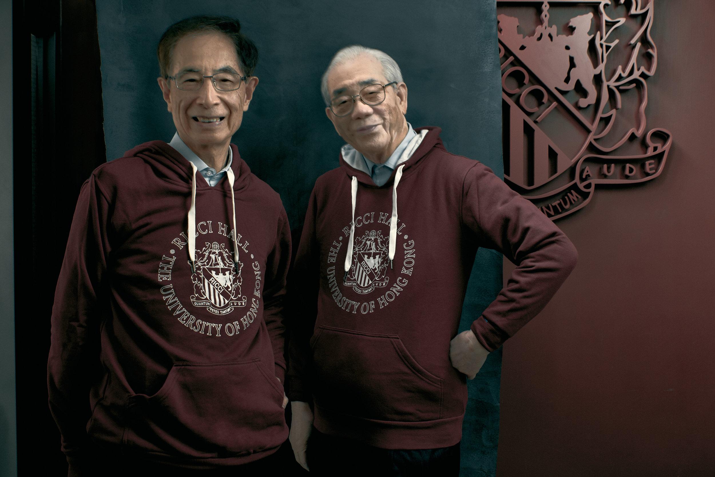 Riccians in the 50s, Ricci Hall Hall Emblem, 24th Feb 2019