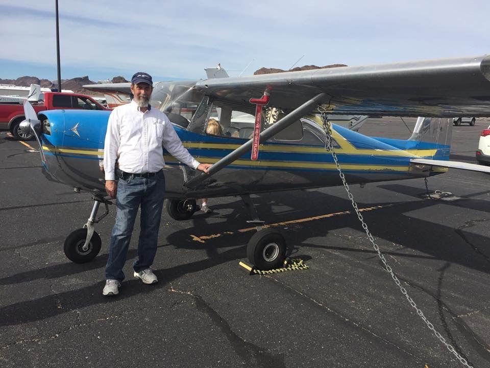 Joe Thayer winner of the Cessna 150
