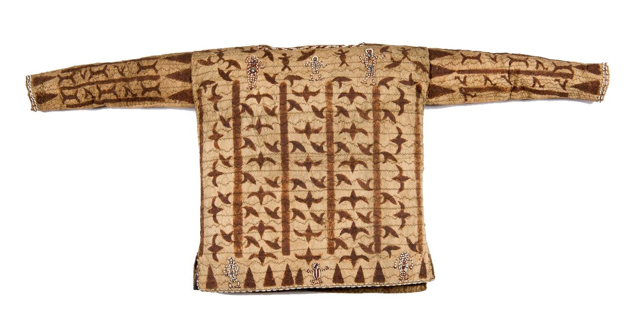 Ceremonial Bark Cloth Jacket for Eakalea Feast © Nationaal Museum van Wereldculturen | The Netherlands