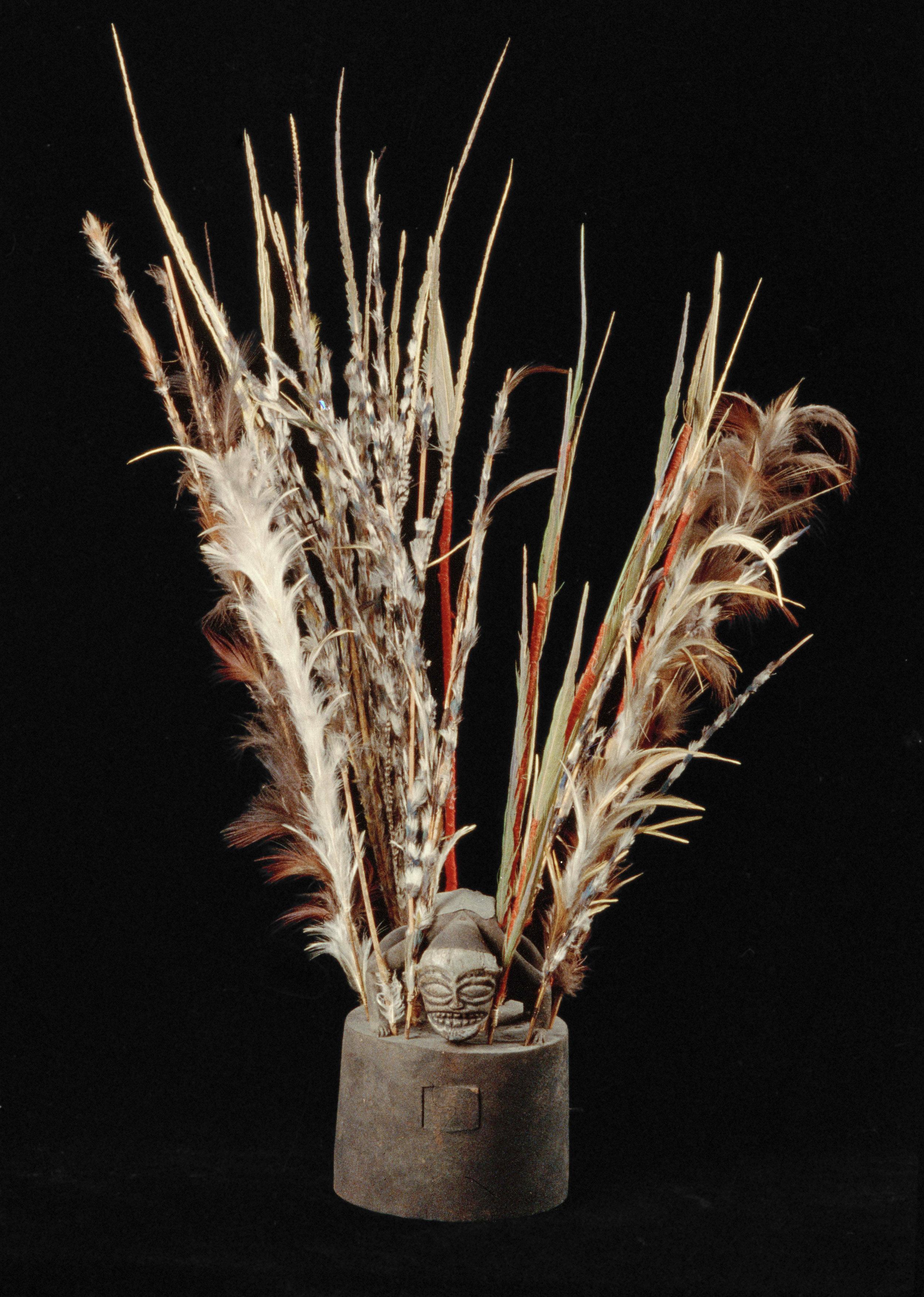 Aristocratic Women's Ceremonial Hat |  Epaku  © Museo di Storia Naturale dell'Università di Firenze | Italy