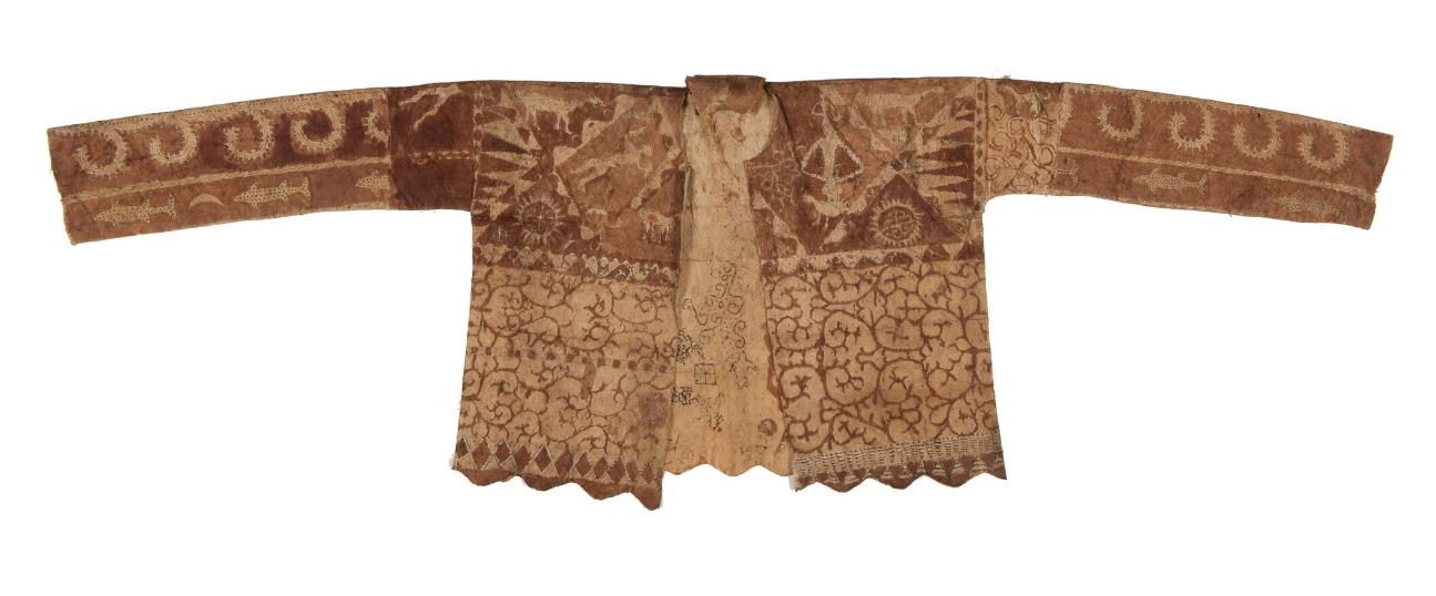 Barkcloth Jacket © Nationaal Museum van Wereldculturen | The Netherlands