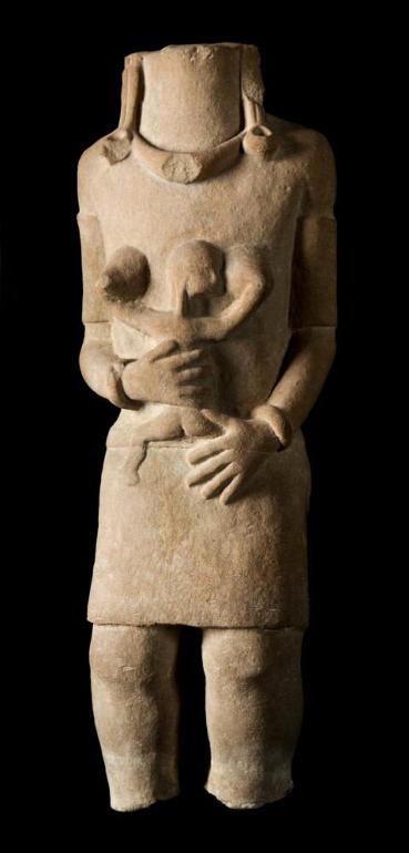 Memorial in Stone of Mother and Child © Nationaal Museum van Wereldculturen | The Netherlands