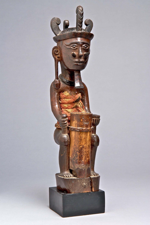 Seated Ancestor Figure |  Adu Zatua  © Yale University Art Gallery | Connecticut, USA