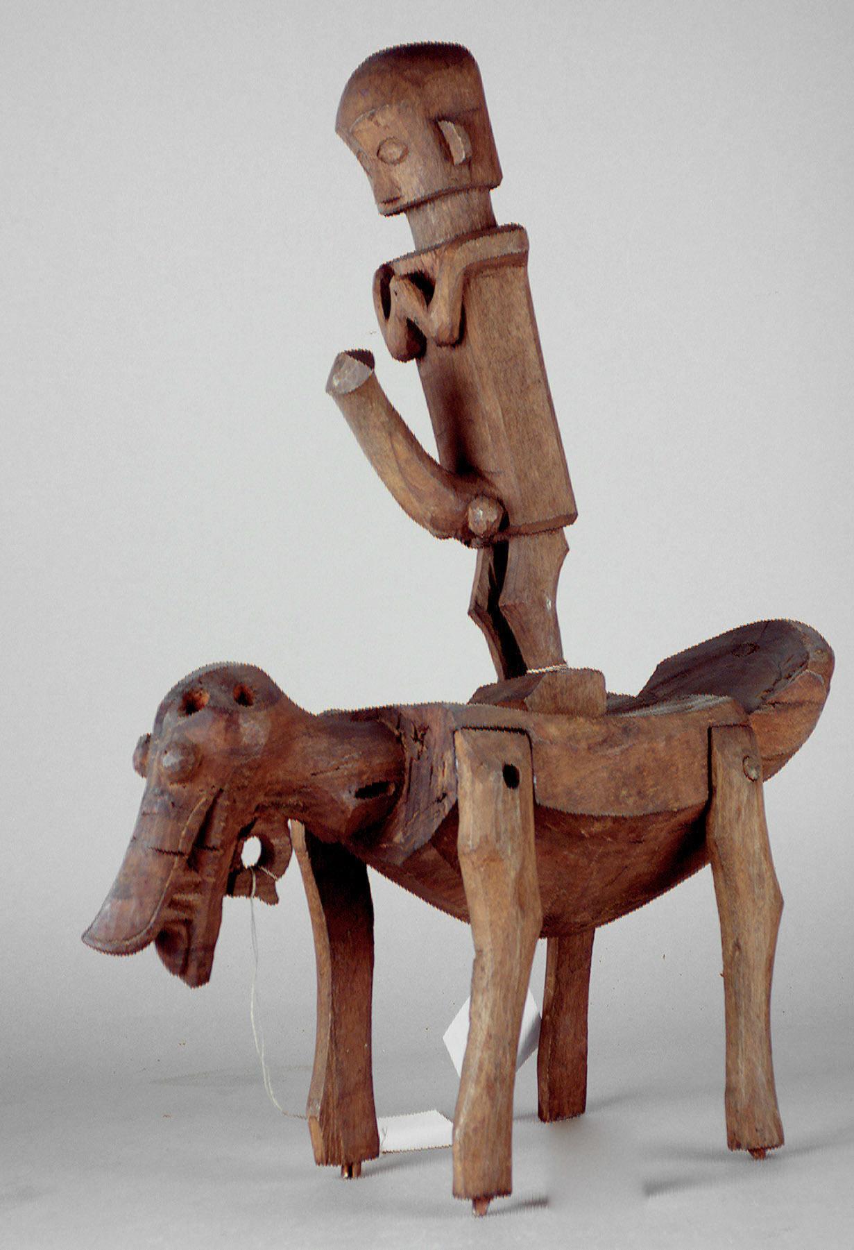 Ancestor Figure on Zoomorphic Throne |  Adu Zatua  |  Osa-Osa  © Weltmuseum Wien | Austria