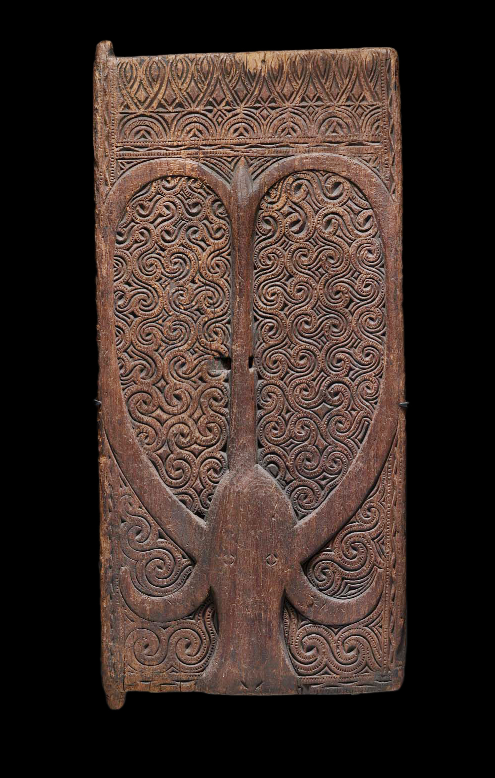 Toraja House Door with Buffalo Motif © Museum of Fine Arts, Boston | Massachusetts, USA