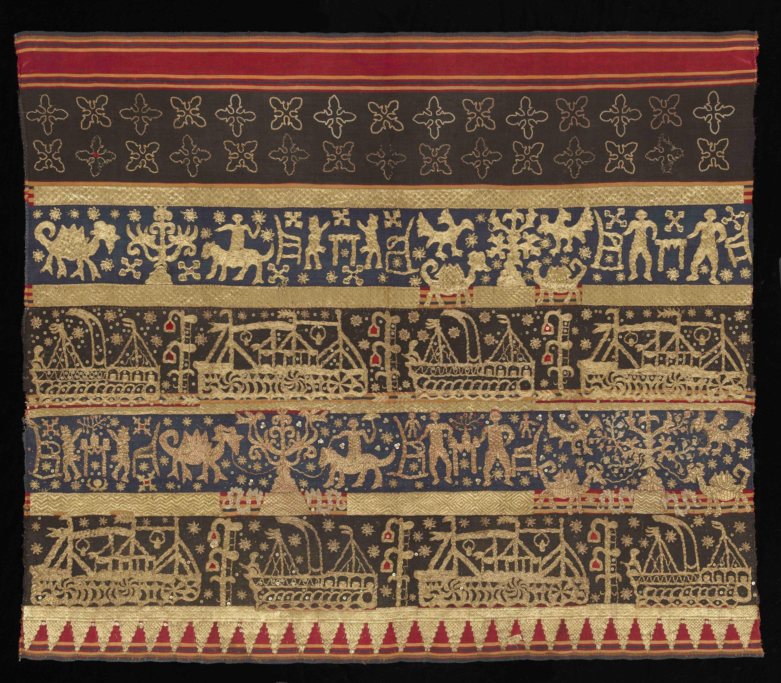 Woman's Ceremonial Skirt |  Tapis  © The Dallas Museum of Art | Texas, USA