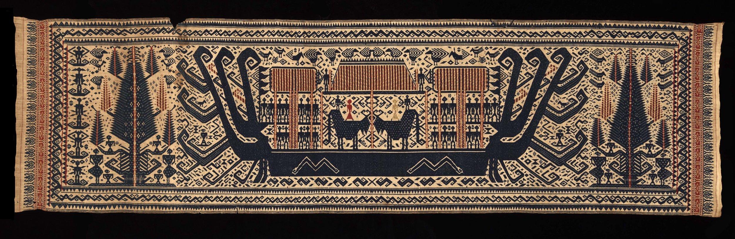 Ceremonial Banner Cloth |  Palepai  © The Dallas Museum of Art | Texas, USA