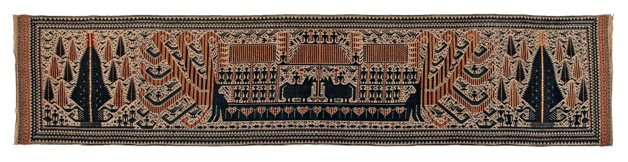 Ceremonial Banner Cloth |  Palepai  © Nationaal Museum van Wereldculturen | The Netherlands