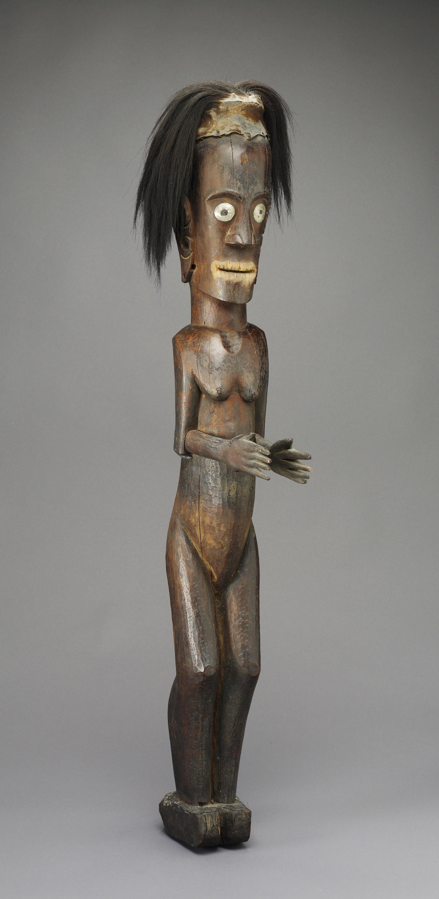 Protective Statue |  Pagar  © de Young Museum FAMSF | California, USA
