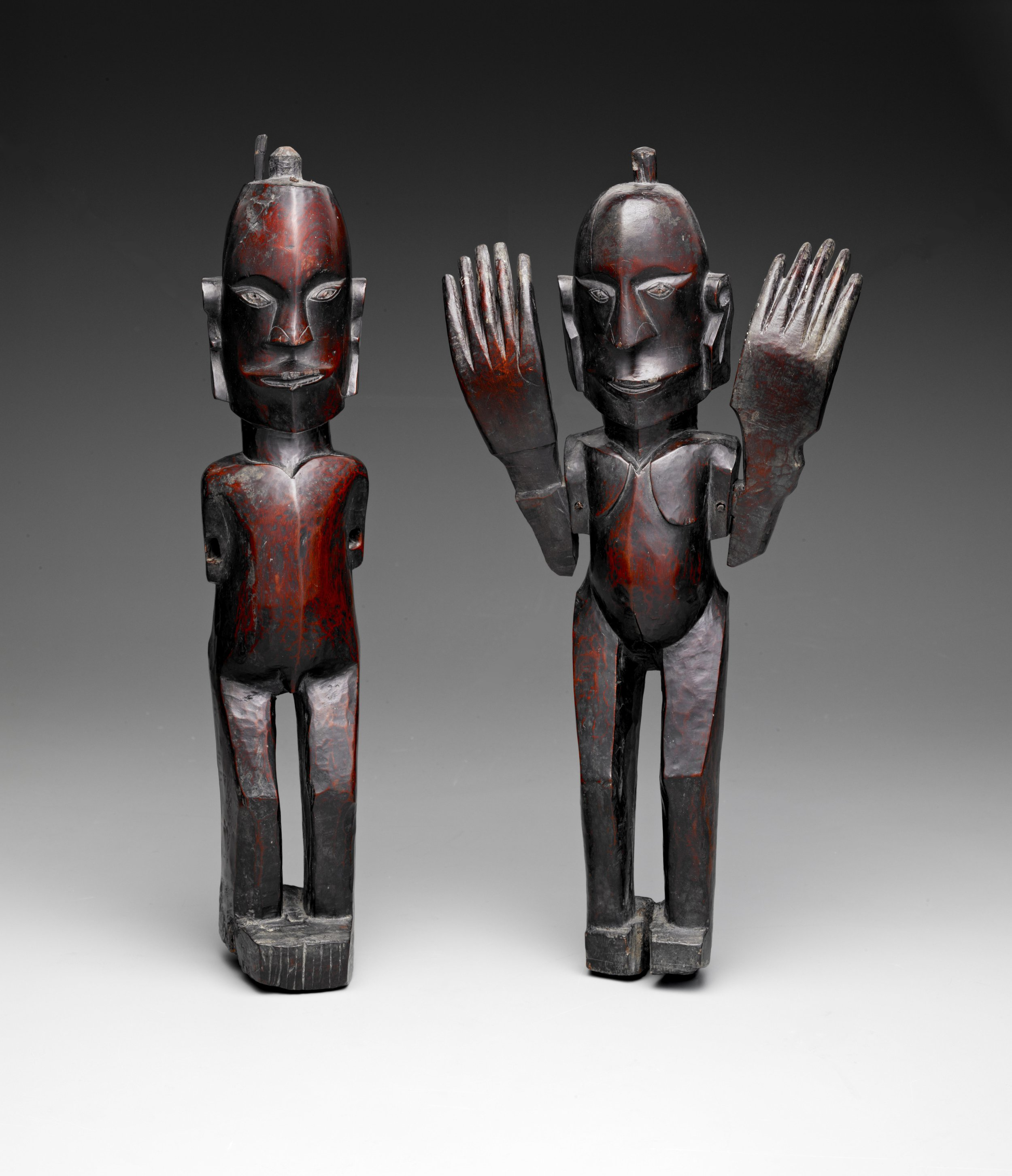 Male and Female Protective Figures |  Pagar  © The Dallas Museum of Art | Texas, USA