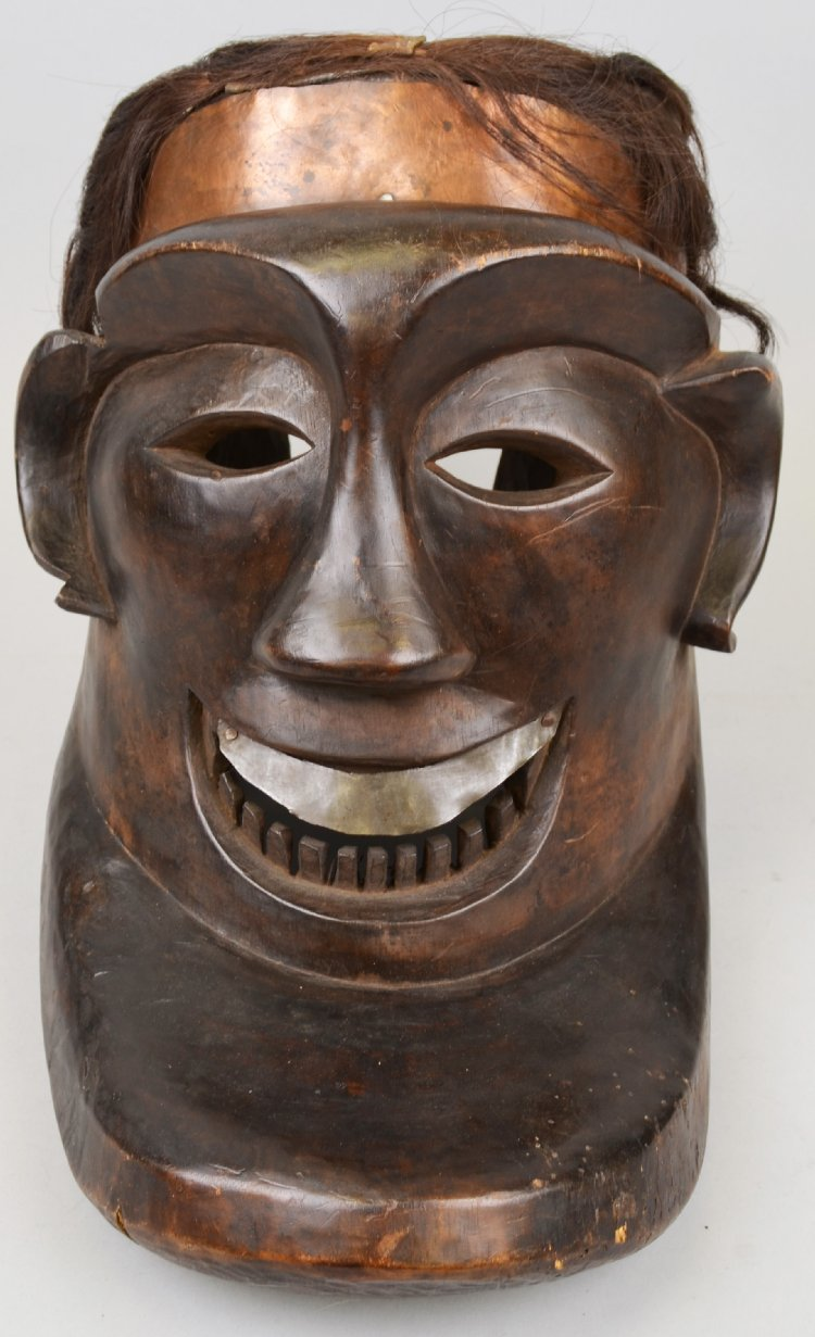 Mourning Mask |  Topeng  © The British Museum | United Kingdom