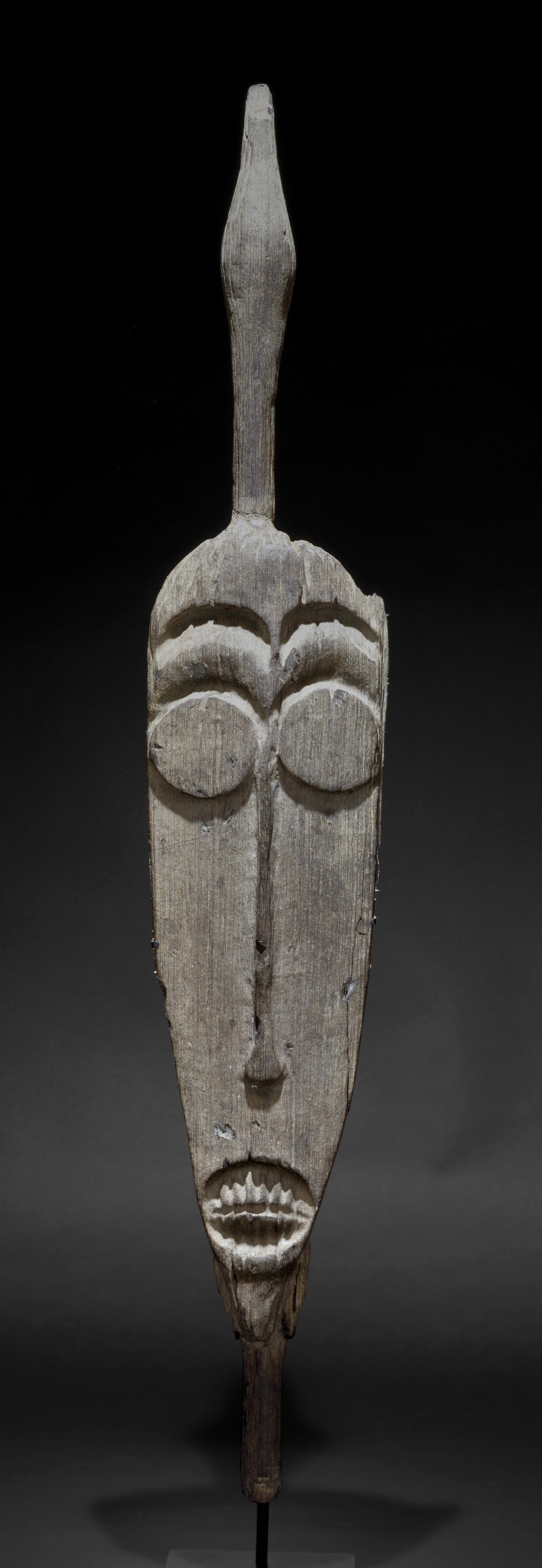 Large Carving of Human-Like Face © The Dallas Museum of Art | Texas, USA