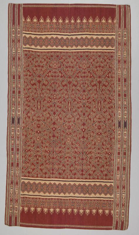 Iban  Ceremonial Weaving |  Pua Kumbu  © Textile Museum of Canada