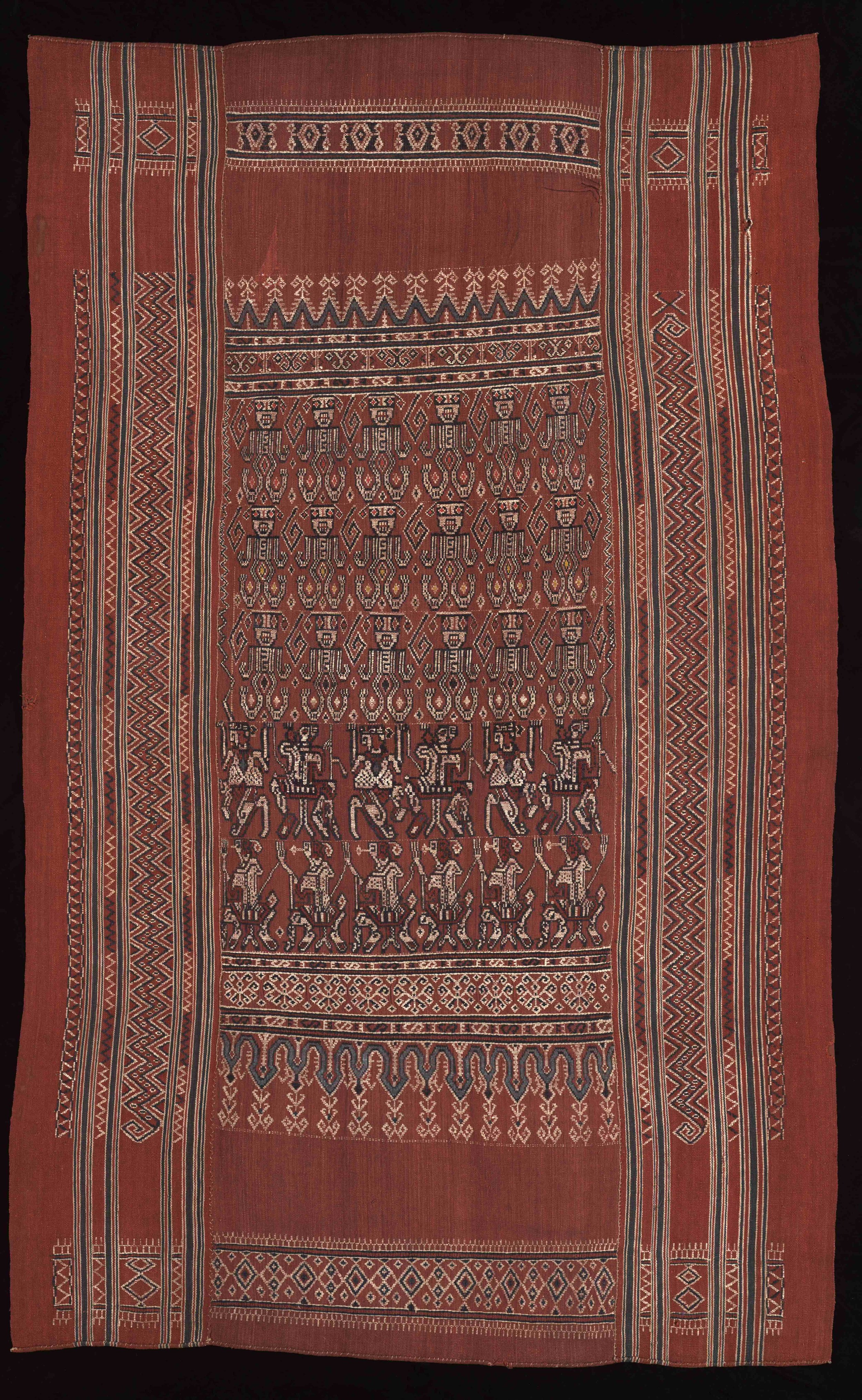 Iban  Ceremonial Weaving |  Pua Sungkit  © The Dallas Museum of Art | Texas, USA