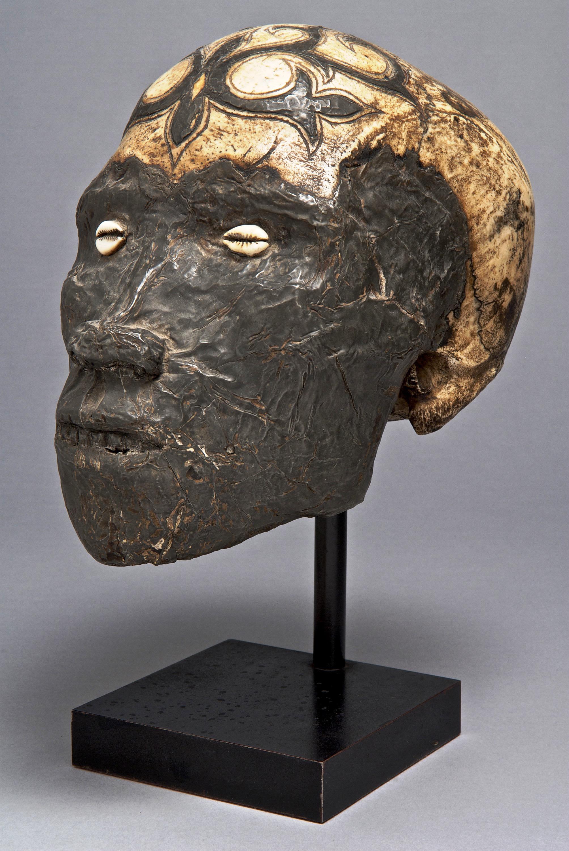 Ornately Decorated Trophy Skull © Yale University Art Gallery | Connecticut, USA