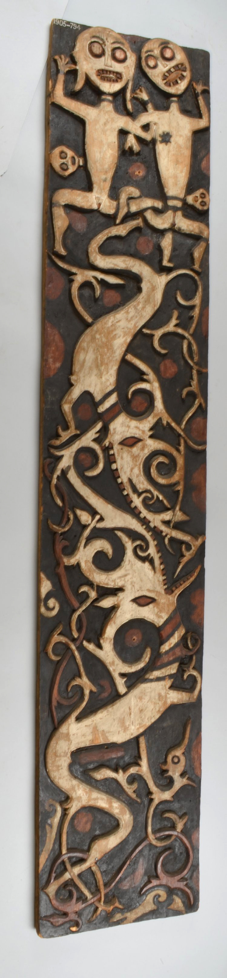 Painted and Carved House Panel © The British Museum | United Kingdom