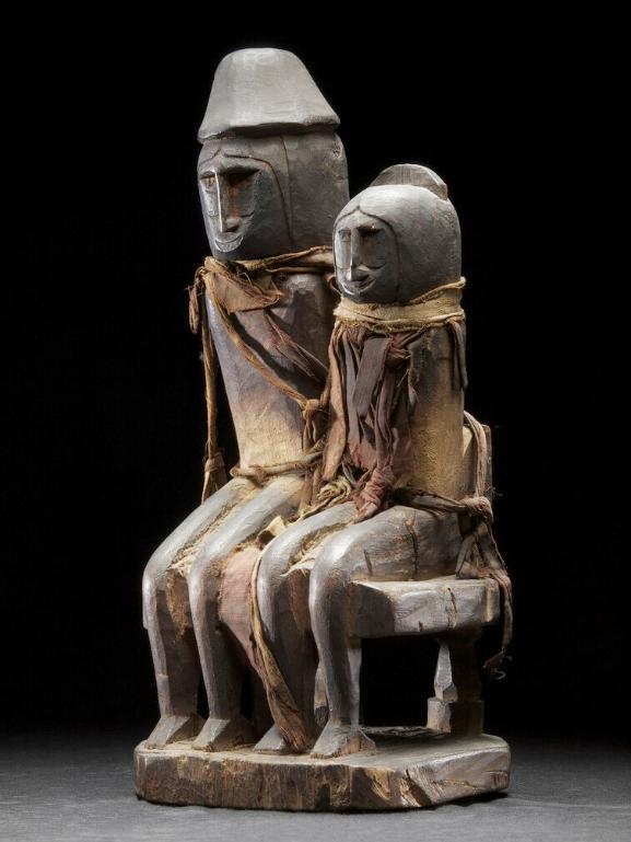 Ancestral Couple   Geelvinck Bay Region © Nationaal Museum van Wereldculturen   The Netherlands