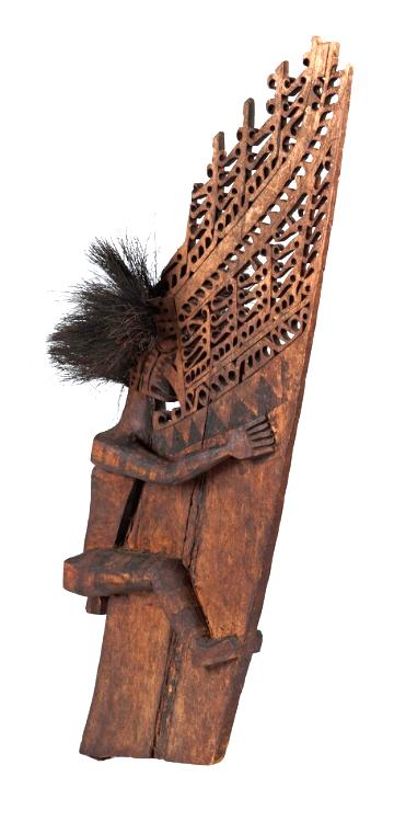Canoe Prow Ornament   Geelvinck Bay Region  © Nationaal Museum van Wereldculturen   The Netherlands