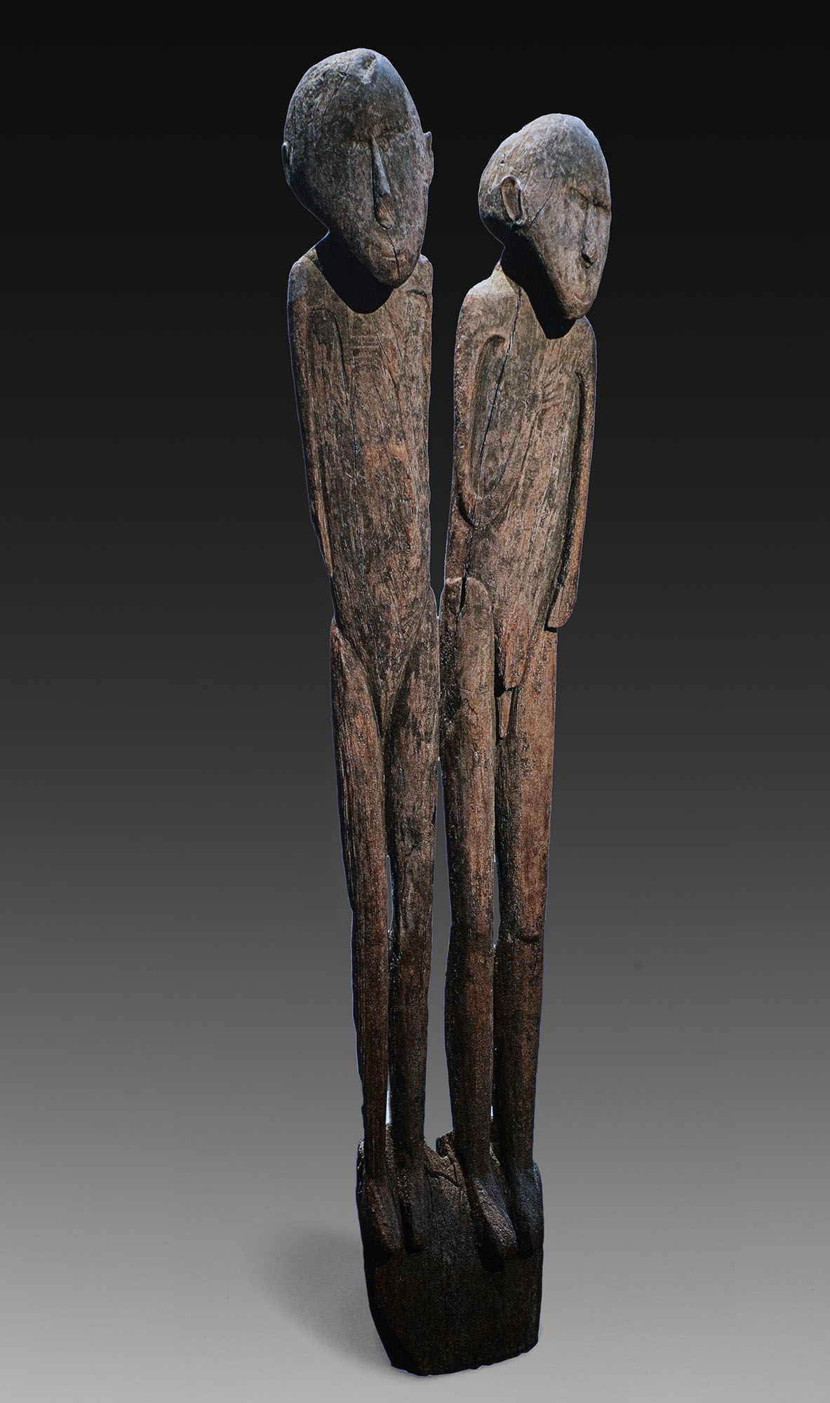 Double Figure Post, Chief's House | Lake Sentani © National Gallery of Australia