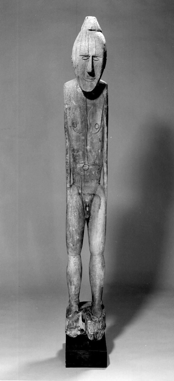 Ancestor Figure   Lake Sentani Brooklyn Museum   New York, USA