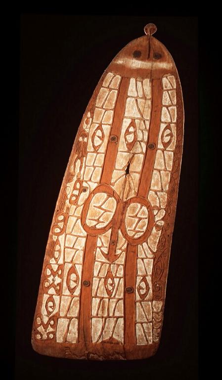 War Shield    Asmat  © Nationaal Museum van Wereldculturen   The Netherlands