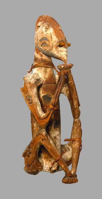 Ancestor Figure    Asmat  © Nationaal Museum van Wereldculturen   The Netherlands