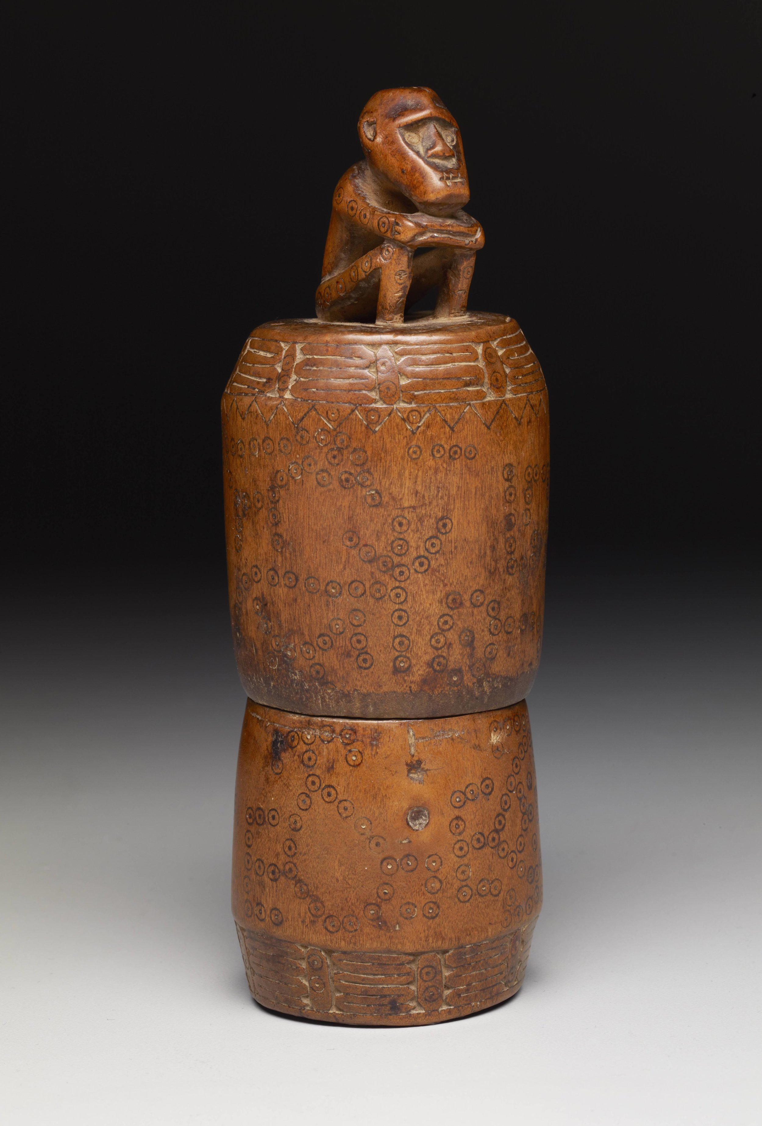 Belu  Ceremonial Lime Container |  Ahu Mama  © The Dallas Museum of Art | Texas, USA