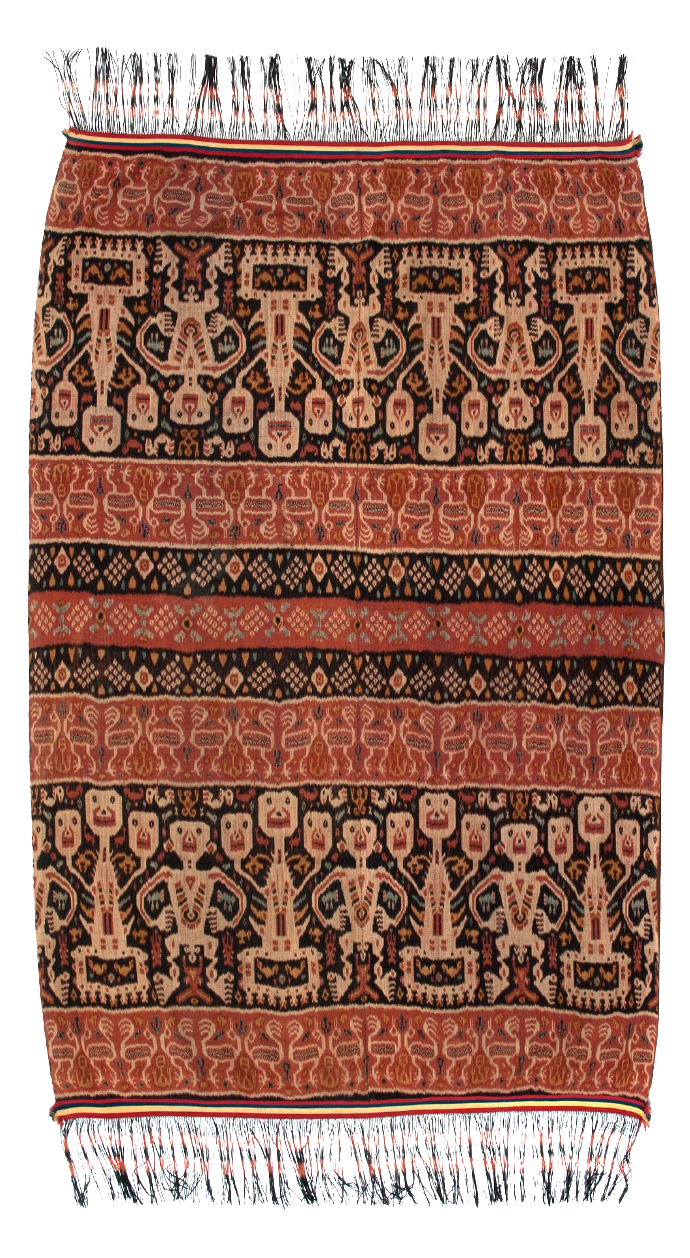 Man's Ceremonial Ikat Mantle |  Hinggi  © Nationaal Museum van Wereldculturen | The Netherlands