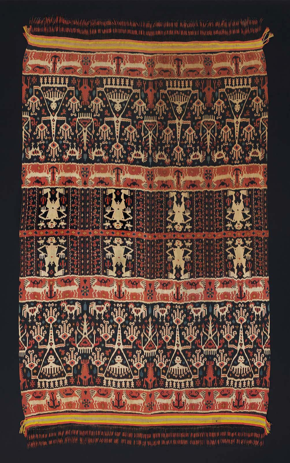 Man's Ceremonial Ikat Mantle |  Hinggi  © Museum of Fine Arts, Boston | Massachusetts, USA