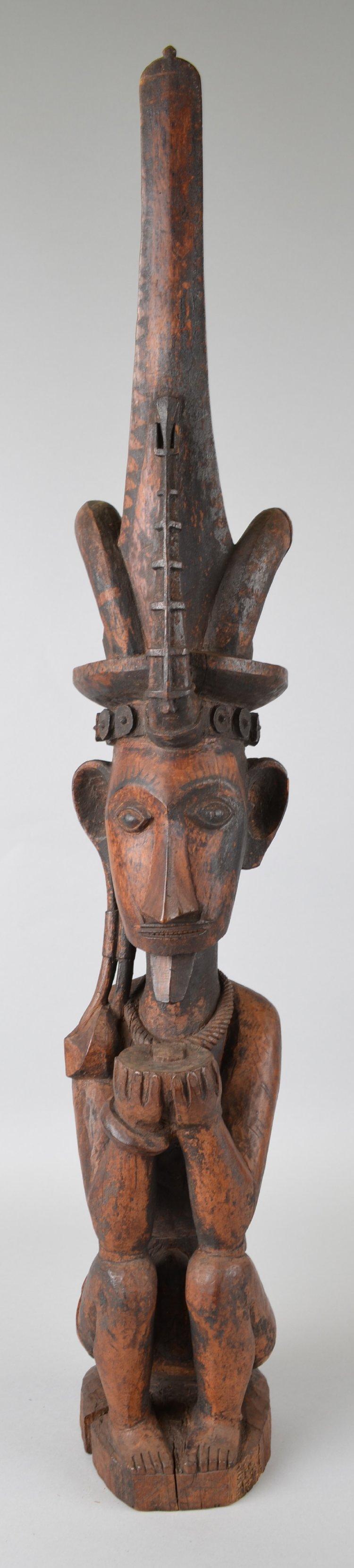 Seated Male Ancestor Figure |  Adu Sihara Salawa  © The British Museum | United Kingdom