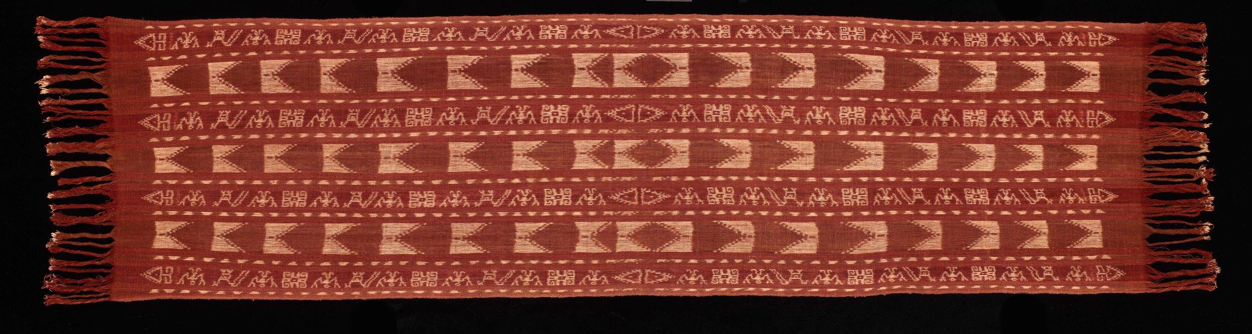 Kisar Ritual  Ikat  Shawl © The Dallas Museum of Art | Texas, USA