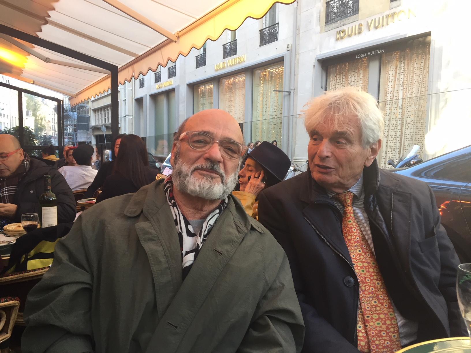 With Dr. Reimar Schefold in Paris.
