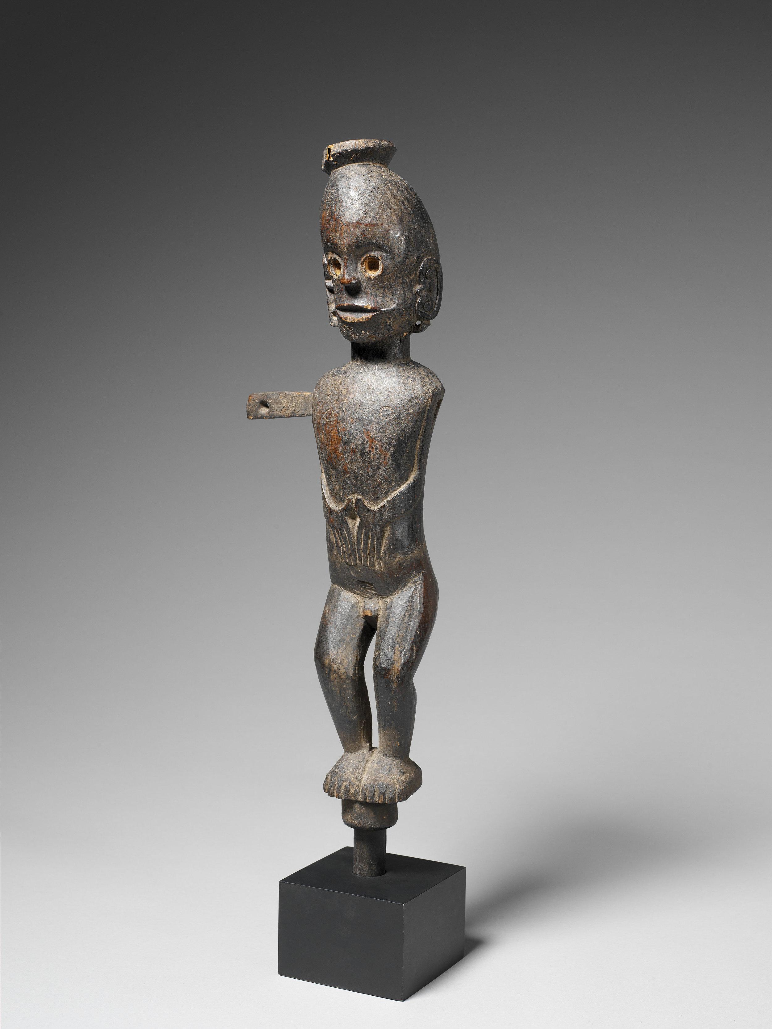 One of a Pair of  Pagar  Figures © Musée du Quai-Branly | France