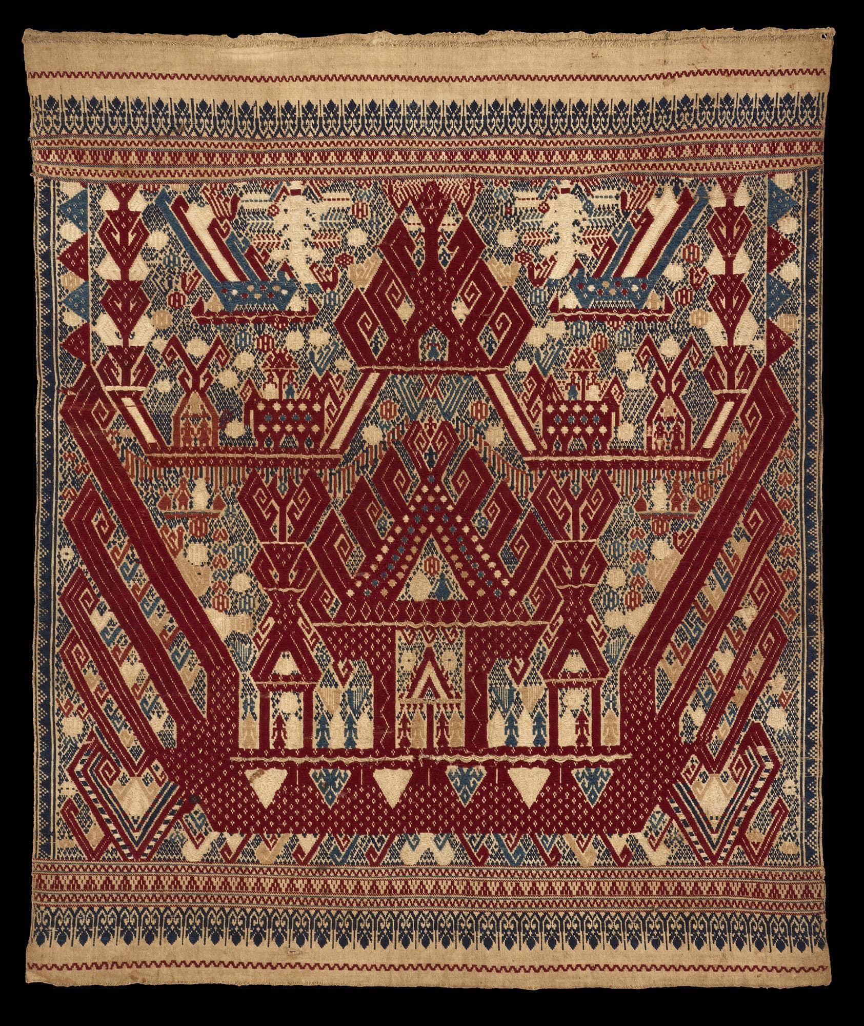 Ceremonial Cloth | Tampan © The Dallas Museum of Art | Texas, USA