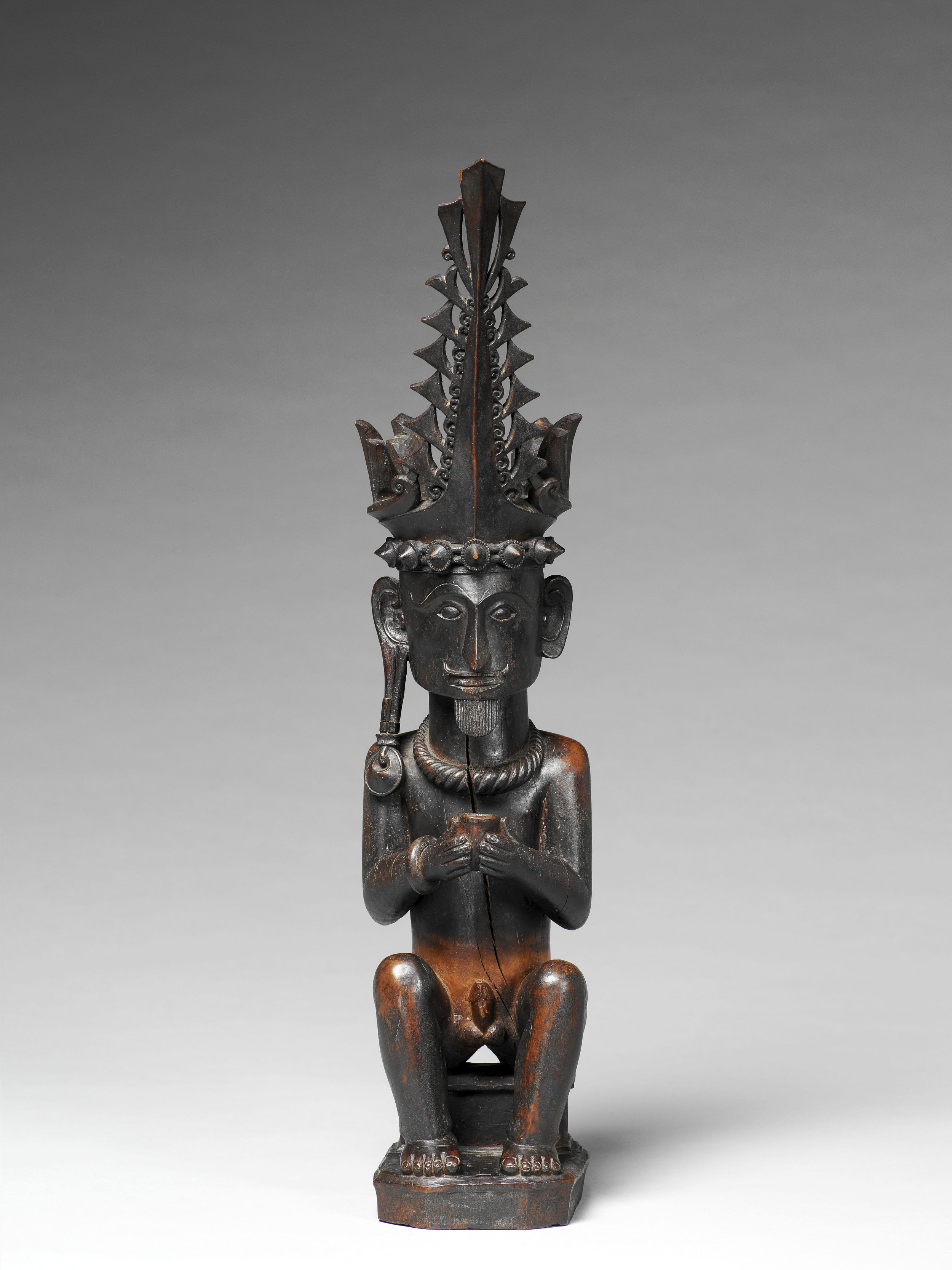 Seated Ancestor Figure |  Adu Sihara Salawa  © Musée du Quai-Branly | France