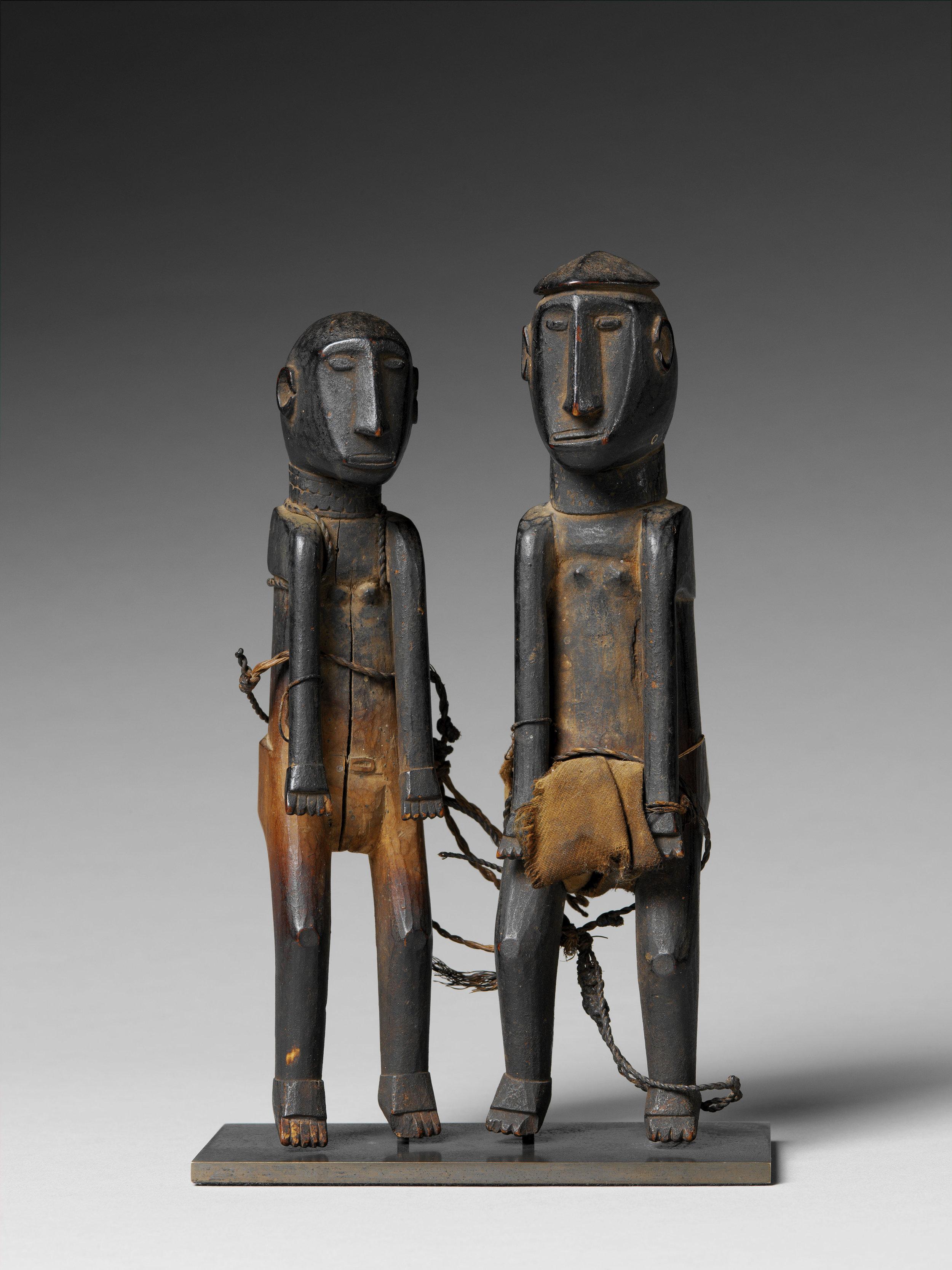 Pair of Ancestor Figures |  Itara  © Musée du Quai-Branly | France