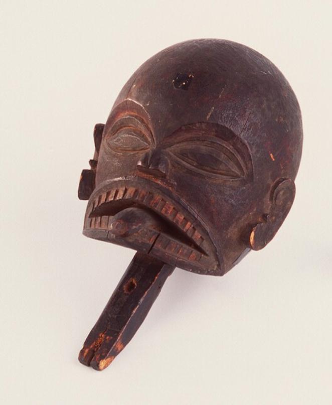 Carved Wooden Head © Nationaal Museum van Wereldculturen | The Netherlands