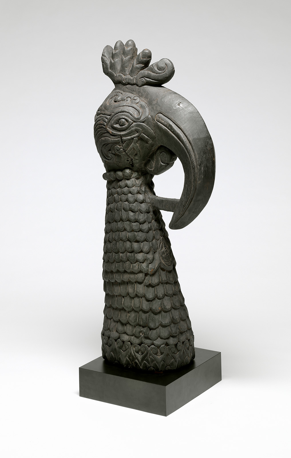 Head of a Hornbill from a Ceremonial Chariot or Conveyance |  Rata  © National Gallery of Australia