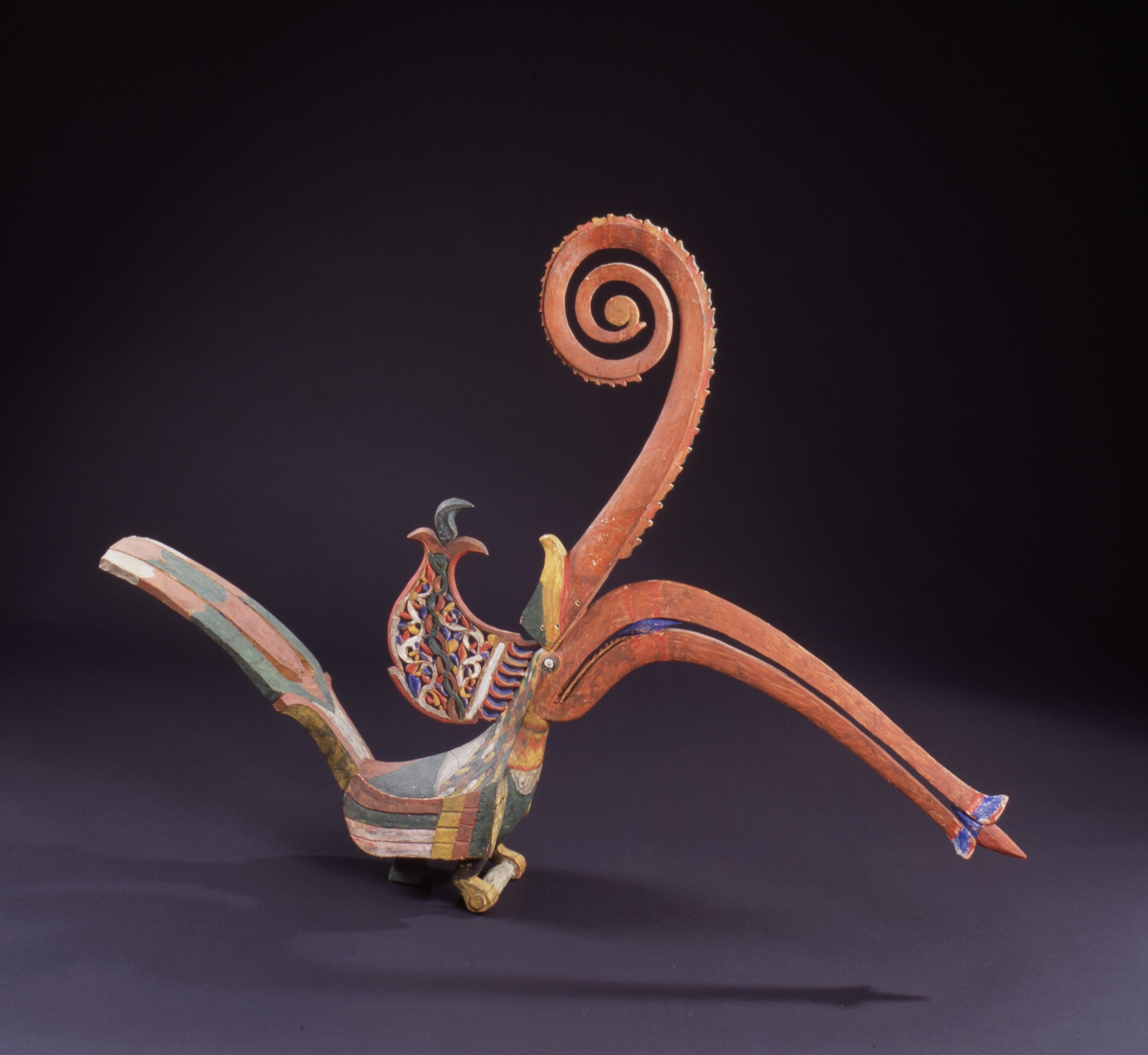 Hornbill Figure |  Kenyalang  © Staatliche Kunstsammlungen Dresden | Germany