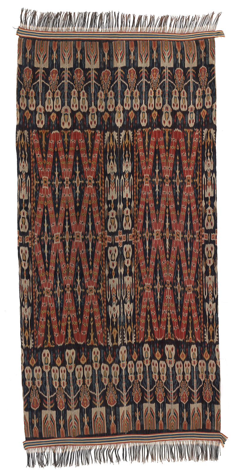 Man's Ceremonial Ikat Mantle |  Hinggi  © National Gallery of Australia