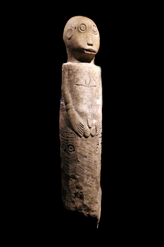 Stone Memorial Figure © Musée du Quai-Branly | France