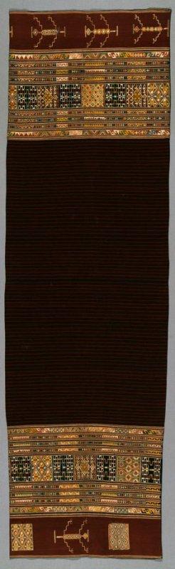 Belu  Ritual Royal Sarong  © de Young Museum FAMSF | California, USA